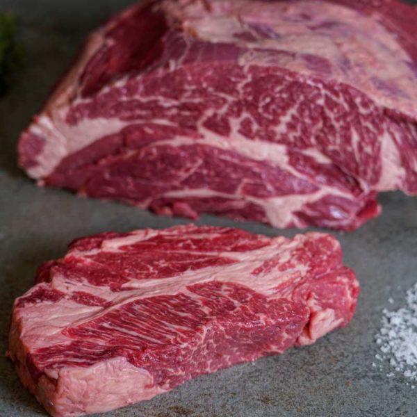 US Beef Chuck Eye Steak Stück (halb)