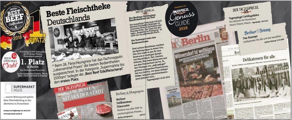 Zeitungsartikel Collage