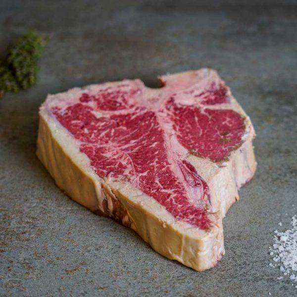 US Beef Porterhouse Steak Scheibe