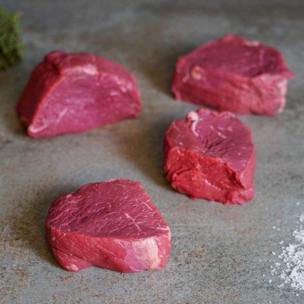 Argentinische Hüftfilet Steaks Scheibe