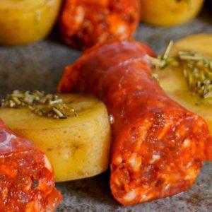 Chorizo Rosmarinkartoffel Spiess_detail