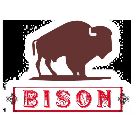 bison label